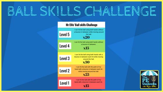 Ball Skills Challenge web