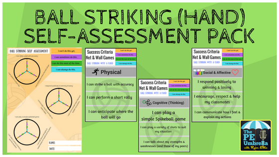 Ball Striking self-assessment web