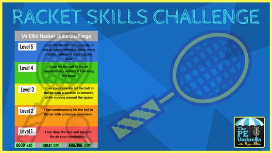 Racket Skills Challenge web