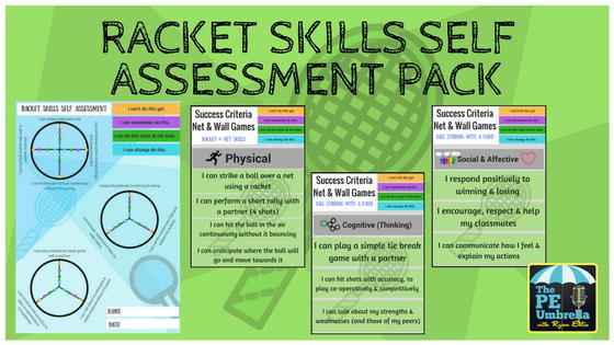 Racket Skills Self assessment web