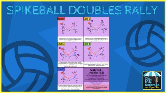 Spikeball Doubles Rally