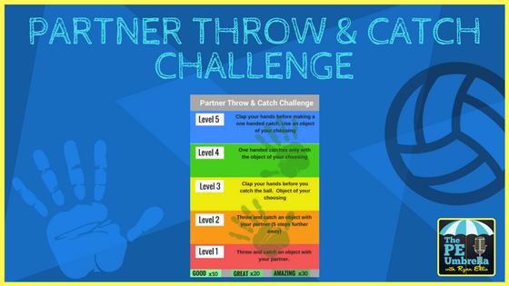 Throw & Catch challenge web