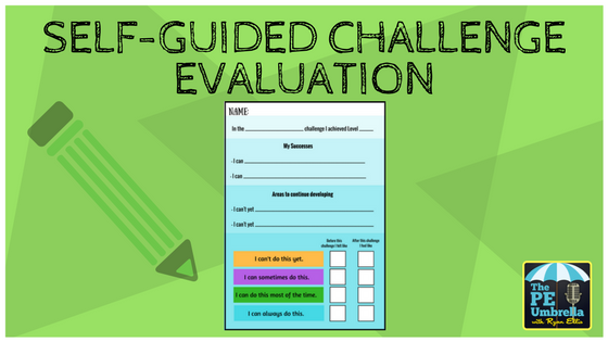 self guided challenge web