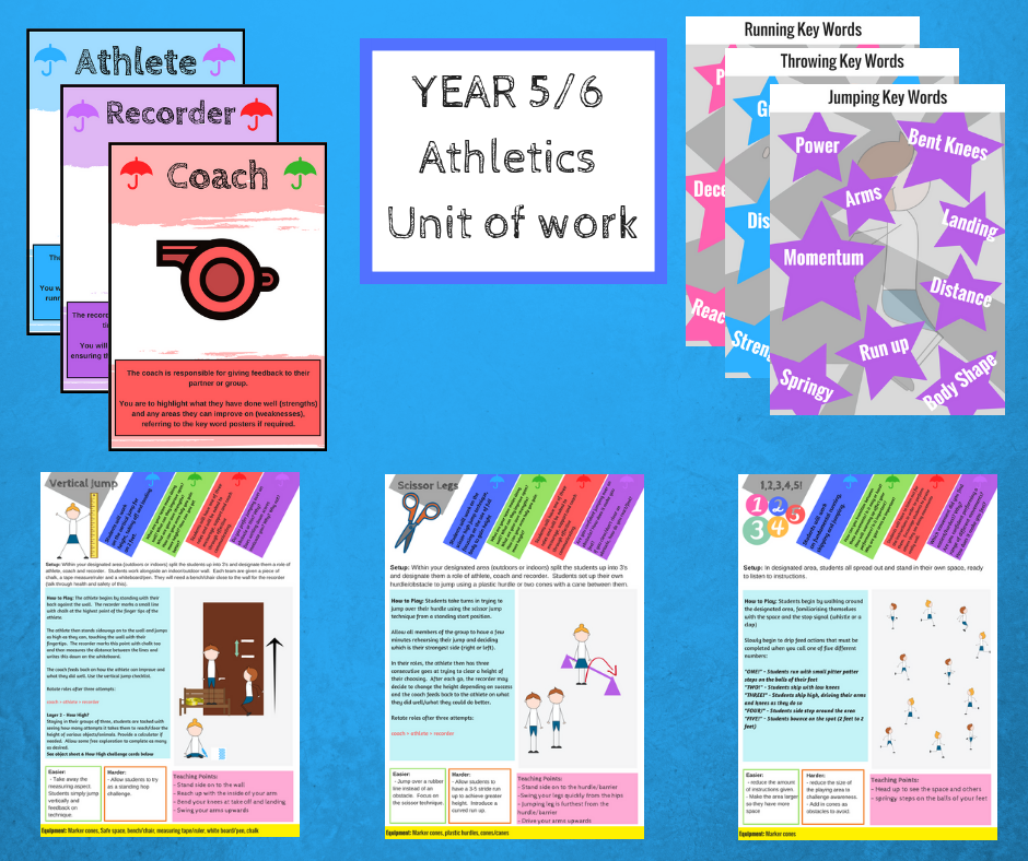 Year 5/6 Athletics Scheme of Work