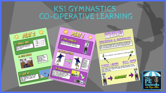 KS1 gym co-op learning